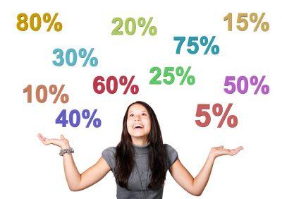 אחוזי רווח