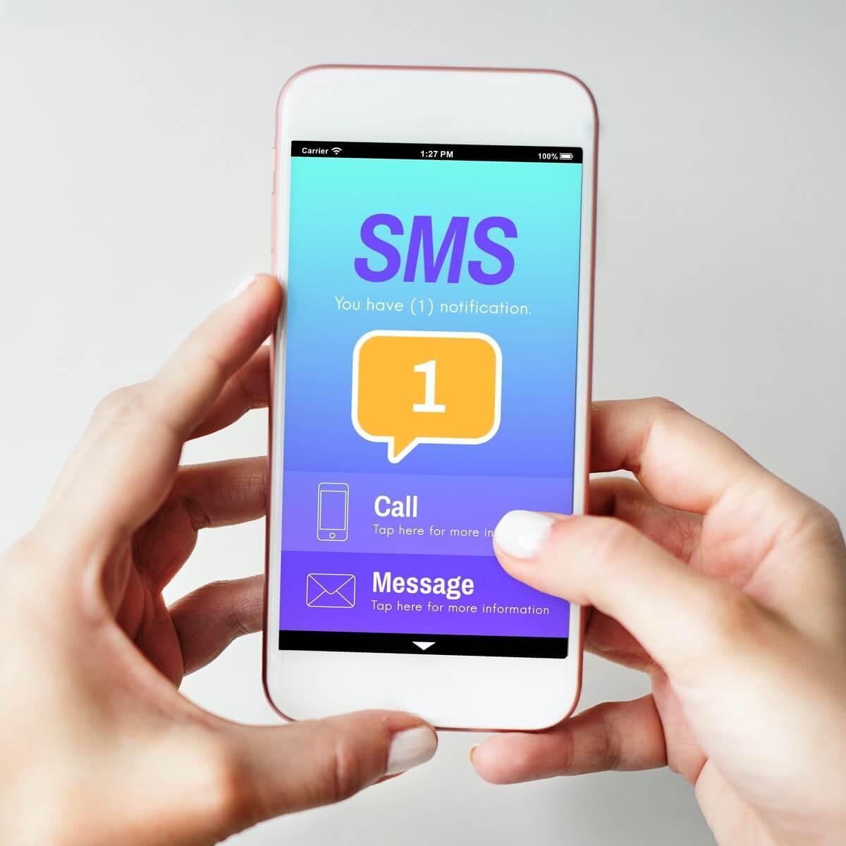הודעת sms על כל ליד שנכנס